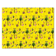 Aloha   Summer Fun 2b Rectangular Jigsaw Puzzl by MoreColorsinLife