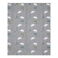 Shave Our Rhinos Animals Monster Shower Curtain 60  X 72  (medium)  by Mariart