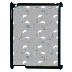 Shave Our Rhinos Animals Monster Apple Ipad 2 Case (black) by Mariart