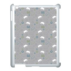 Shave Our Rhinos Animals Monster Apple Ipad 3/4 Case (white)
