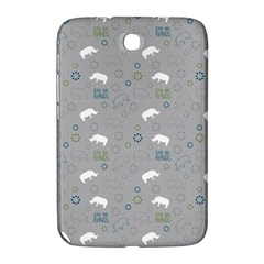 Shave Our Rhinos Animals Monster Samsung Galaxy Note 8 0 N5100 Hardshell Case  by Mariart