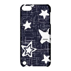 Star Space Line Blue Art Cute Kids Apple Ipod Touch 5 Hardshell Case With Stand by Mariart