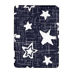 Star Space Line Blue Art Cute Kids Galaxy Note 1 by Mariart