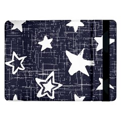 Star Space Line Blue Art Cute Kids Samsung Galaxy Tab Pro 12 2  Flip Case by Mariart