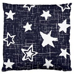 Star Space Line Blue Art Cute Kids Standard Flano Cushion Case (two Sides)