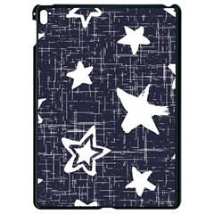 Star Space Line Blue Art Cute Kids Apple Ipad Pro 9 7   Black Seamless Case by Mariart