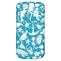 Summer Icons Toss Pattern Samsung Galaxy S3 S Iii Classic Hardshell Back Case by Mariart