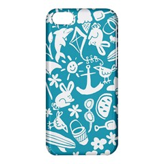 Summer Icons Toss Pattern Apple Iphone 5c Hardshell Case by Mariart