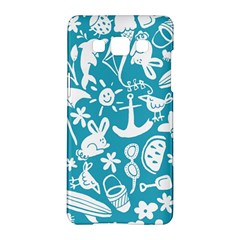 Summer Icons Toss Pattern Samsung Galaxy A5 Hardshell Case  by Mariart