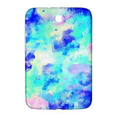 Transparent Colorful Rainbow Blue Paint Sky Samsung Galaxy Note 8 0 N5100 Hardshell Case  by Mariart