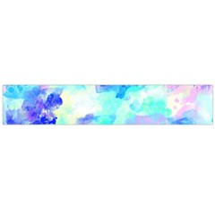 Transparent Colorful Rainbow Blue Paint Sky Flano Scarf (large) by Mariart