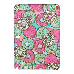 Donuts Pattern Samsung Galaxy Tab Pro 12 2 Hardshell Case by ValentinaDesign