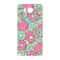 Donuts Pattern Samsung Galaxy Alpha Hardshell Back Case by ValentinaDesign