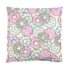 Donuts Pattern Standard Cushion Case (two Sides) by ValentinaDesign
