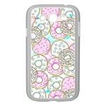 Donuts pattern Samsung Galaxy Grand DUOS I9082 Case (White) Front