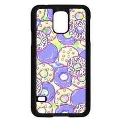 Donuts Pattern Samsung Galaxy S5 Case (black) by ValentinaDesign
