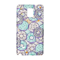 Donuts Pattern Samsung Galaxy Note 4 Hardshell Case by ValentinaDesign