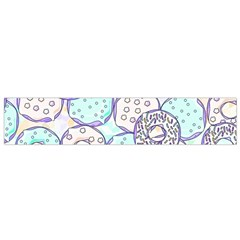 Donuts Pattern Flano Scarf (small) by ValentinaDesign