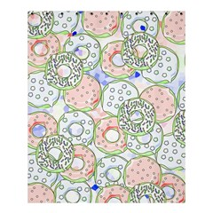 Donuts Pattern Shower Curtain 60  X 72  (medium)