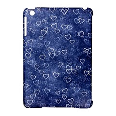 Heart Pattern Apple Ipad Mini Hardshell Case (compatible With Smart Cover) by ValentinaDesign
