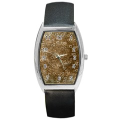 Heart Pattern Barrel Style Metal Watch