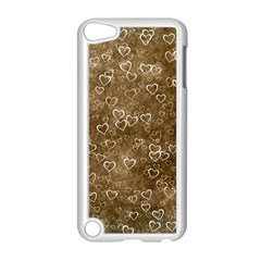 Heart Pattern Apple Ipod Touch 5 Case (white) by ValentinaDesign