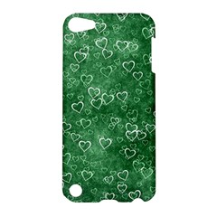 Heart Pattern Apple Ipod Touch 5 Hardshell Case by ValentinaDesign