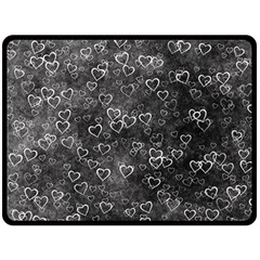 Heart Pattern Fleece Blanket (large)  by ValentinaDesign