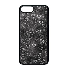 Heart Pattern Apple Iphone 7 Plus Seamless Case (black) by ValentinaDesign