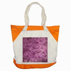 Heart Pattern Accent Tote Bag by ValentinaDesign