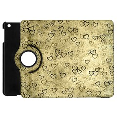 Heart Pattern Apple Ipad Mini Flip 360 Case by ValentinaDesign