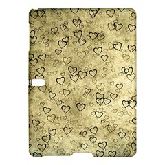 Heart Pattern Samsung Galaxy Tab S (10 5 ) Hardshell Case  by ValentinaDesign