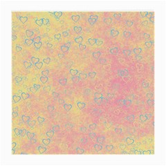 Heart Pattern Medium Glasses Cloth by ValentinaDesign