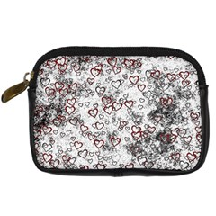 Heart Pattern Digital Camera Cases by ValentinaDesign