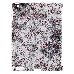 Heart Pattern Apple Ipad 3/4 Hardshell Case (compatible With Smart Cover) by ValentinaDesign