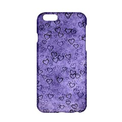 Heart Pattern Apple Iphone 6/6s Hardshell Case by ValentinaDesign