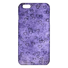 Heart Pattern Iphone 6 Plus/6s Plus Tpu Case by ValentinaDesign