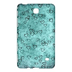 Heart Pattern Samsung Galaxy Tab 4 (8 ) Hardshell Case  by ValentinaDesign