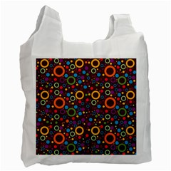 70s Pattern Recycle Bag (one Side) by ValentinaDesign