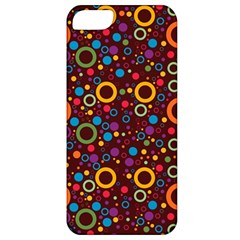 70s Pattern Apple Iphone 5 Classic Hardshell Case by ValentinaDesign