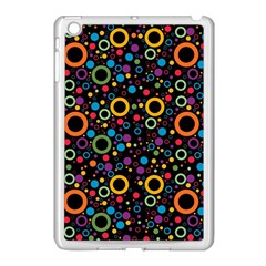 70s Pattern Apple Ipad Mini Case (white) by ValentinaDesign