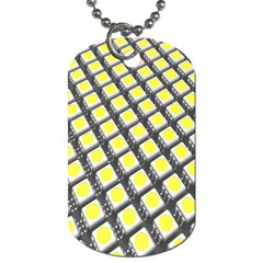 Wafer Size Figure Dog Tag (one Side) by Mariart