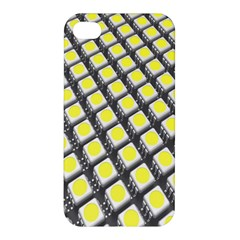 Wafer Size Figure Apple Iphone 4/4s Premium Hardshell Case by Mariart