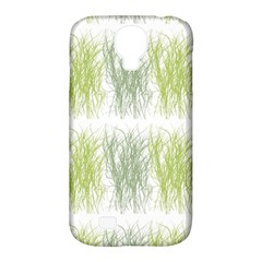 Weeds Grass Green Yellow Leaf Samsung Galaxy S4 Classic Hardshell Case (pc+silicone) by Mariart