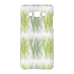 Weeds Grass Green Yellow Leaf Samsung Galaxy A5 Hardshell Case  by Mariart