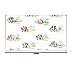 Pinecone Pattern Business Card Holders