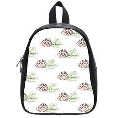 Pinecone Pattern School Bag (small) by Mariart