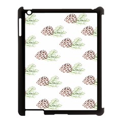 Pinecone Pattern Apple Ipad 3/4 Case (black) by Mariart