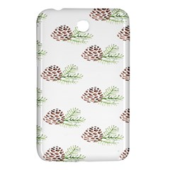 Pinecone Pattern Samsung Galaxy Tab 3 (7 ) P3200 Hardshell Case  by Mariart