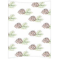 Pinecone Pattern Back Support Cushion by Mariart
